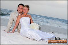 Beautiful Beach Wedding in Gulf Shores, Alabama, Photography provided by Ed Morgan, beach wedding photographer, we love Gulf Shores, www.beachweddingshots.com   352-232-9112