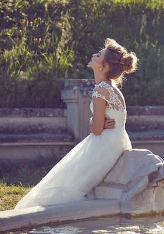 AdoraSposa 2017  Roma Collection #bridal #wedding #weddingdress #weddinggown #bridalgown #dreamgown #dreamdress #engaged #blush #romantic #inspiration #bridalinspiration #train #princess #weddinginspiration #adorasposa #weddingdresse Bridal Gowns, Wedding Gowns, Dream Dress, Wedding Inspiration, Blush, Romantic, Princess, Train, Collection