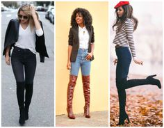 Wear High Waisted Jeans with Over the Knee Boots #theperfectfit ##stylish #streetfashion #fashionista #fashion #fashiondaily #fashionlover #fashionblog #fashionaddict #fashionable #streetstyle #candid #candids #legs #photooftheday #beautiful #likes #shoeporn #shoelover #boots #jeans #highwaistedjeans