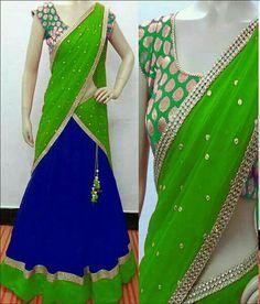 Half Saree Lehenga, Kids Lehenga, Lehnga Dress, Indian Lehenga, Anarkali, Lehenga Dupatta, Saree Gown, Half Saree Designs, Choli Designs