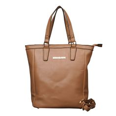 Michael Kors Jet Set North South Medium Camel Totes - LeatherTop handlesLogo plate in frontZip topRemovable shoulder strap.Inside zip, cell phone and multifunction pocketsFlat bottom with feet to protect bag when set down Michael Kors Purses Outlet, Cheap Michael Kors, Handbags Michael Kors, Coach Purses, Michael Kors Jet Set, Handbags On Sale, Purses And Handbags, Fashion Handbags, Fashion Bags