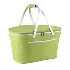 $44   Collapsible Basket Cooler - Apple Green