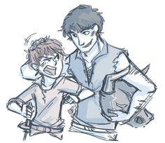 Arya and Gendry ♥