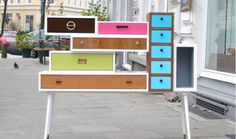 This company makes furniture out of any drawers you give them ie) make a dresser out of every piece of furniture you've ever owned.