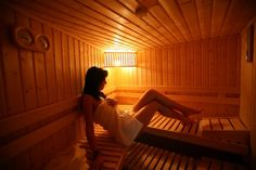 Once a year, maybe every other year - try and have a sauna. It is like shedding skin - very symbolic - like shaving your hair.
