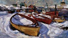 Winter Boats by Jeremy Winborg