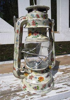 "GlobeIn: #Handmade Decorative Objects from Around the World - #Decoupage #lamp ""Chintz"""
