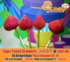 #strawberry #sugarcoatedfruits #bingtanghulu #冰糖葫芦 #naturalcandy #lollypops #lollipop