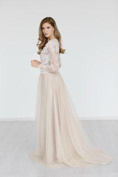 Bridal Skirt Wedding Skirt Long Tulle Bridal by JurgitaBridal on Etsy