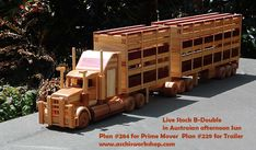 Wooden toys and plans from all over the World Toymaker * Model builder * Art +Craft Market's * Making Toys * News and Updates Wooden Toy Trucks, Wooden Toys, Wooden Projects, Wood Crafts, Woodworking Plans, Woodworking Projects, Warhammer 40000, Wood Toys Plans, How To Make Toys
