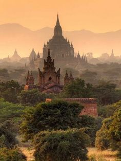 Bagan in Mayanmar Repinned by www.sailorstales.wordpress.com On my list, will see this in November of 2014.