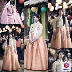 miss A′s Suzy Tries On a Beautiful Hanbok for ′Gu Family Book′