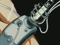 So satisfying to watch all the parts lock in together Old Anime, Manga Anime, Anime Art, Cyberpunk Anime, Cyberpunk Art, Arte Robot, Robot Concept Art, Ex Machina, Animation Reference