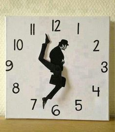Monty Python Ministry of Funny Walks clock