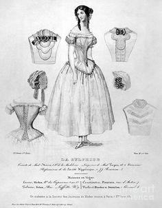 Fashion: Corset, C1850