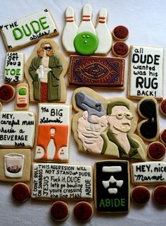 Awesome Dude Cookies made by Sugar Sugar >> I need to get these for my husband, he would flip out!!