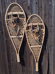 Vintage Trapper Snowshoes