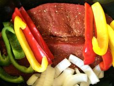 Slow Cooker Steak Fajitas Recipe - Country Recipe Book