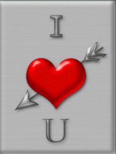 I love you - анимация на телефон №1249970