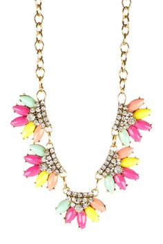 Spring Bling Necklace on HauteLook