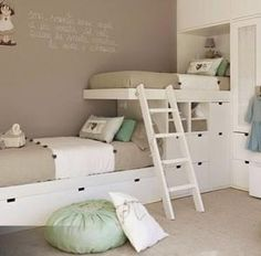 Kids' bedroom. Bunk bed idea by clara