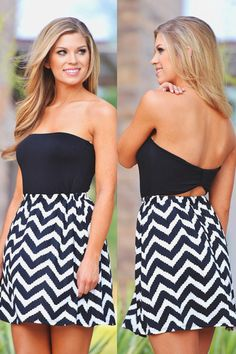 Full Of Surprises Dress - Black from Closet Candy Boutique