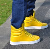 Casual mannen schoenen Koreaanse Candy Kleur Patent Leather Sneakers 2015 ...