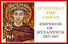 Justinian the Great and Byzantium resources from @JimmiesCollage