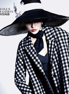 Bonnie Chen by Mei Yuangui for Vogue China September 2013