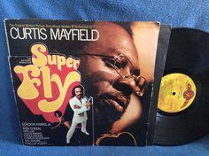 Vintage Curtis Mayfield  Super Fly Soundtrack by sweetleafvinyl