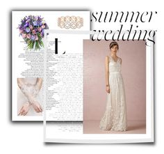 """""""summer wedding"""" by adrielisanes on Polyvore featuring Philippa Craddock, BHLDN, WithChic and Accessorize"""