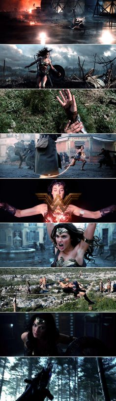 I am Diana of Themyscira, daughter of Hippolyta. In the name of all that is good, your wrath upon this world is over. // Wonder Woman (2017) dir. Patty Jenkins