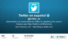 Fotos Twitter de portadas de Twitter en EspaÑol