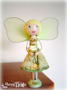clothespin dolls and fairies