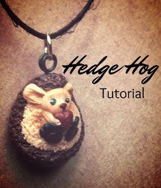 Polymer Clay Tutorial: Hedge Hog