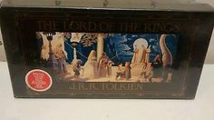 LORD OF THE RINGS By J.R.R.Tolkien Audio Book Set 1987( NIB Sealed)
