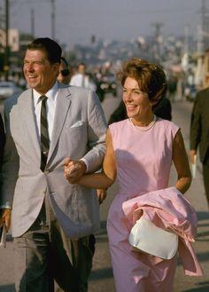 Nancy had gone yo join Ron. Ron & Nancy