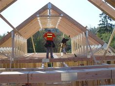 1000 images about t r u s s on pinterest roof trusses for Pre engineered roof trusses
