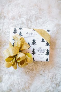Gift Wrapping With Beijos Events and Tiny Prints