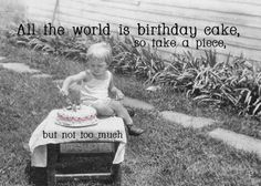 The World is a Birthday Cake!