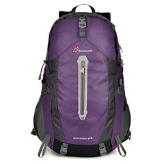 Mardingtop 45 Liter Water-resistant Hiking Backpack-5458 * Check the link at the image. Amazon Affiliate Program's Ads.