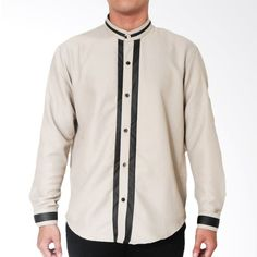 Marsketeer Arif Light Shirt Baju Koko – Brown