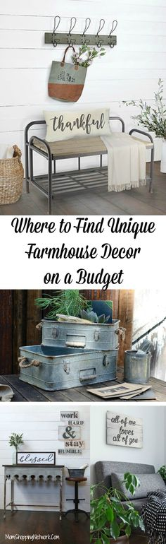 Are you a Fixer Upper fanatic? Do you wish Joanna Gaines would come and decorate your house? Met too, but until then I guess we'll have to do it ourselves! These really are the best sites to find unique farmhouse decor on a budget! Farmhouse Decor | Farmhouse Decor on a Budget |Unique Farmhouse Decor |Budget-Friendly Farmhouse Decor | Joanna Gaines | Farmhouse Decor Joanna Gaines |Farmhouse Decor Vintage | Farmhouse Decor Signs | Farmhouse Decor Kitchen | Farmhouse Decor Bathroom | Farmhouse…