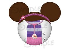 Doc McStuffins inspired character Mickey head DIGITAL printable diy file. $2.00, via Etsy.