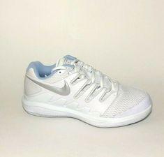Nike Air Zoom Vapor X Womens Tennis Shoes 7.5 White AA8027-105 #Nike #Sneaker #Activewear