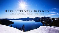 Made from over 9,000 individual photos, Reflecting Oregon is a time-lapse montage of landscapes, cityscapes, and human interaction.  Sam's time-lapse work regularly appears on the NBC show Grimm.  Best served in full screen HD with a nice red wine.  Filmed and Produced by Sam Forencich - http://www.samforencich.com/  Original Music Produced and Performed by Travis Forencich  Cameras and Equipment:  Canon 5D mark III, Canon 5D mark II, Canon 7D Canon lenses: 8-15mm f4L, 16-35mm f2.8L...