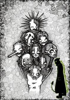 Las 72 Mejores Imágenes De Slipknot Bandas Bandas De Rock