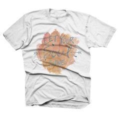 Our Let Your Soul Shine watercolor design was made for kiddos that radiate a positive energy…www.finfirstmb.com