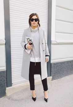 We declare soft grey the official color of fall.