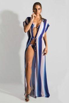 SAÍDA DE PRAIA LONGA ou curta modelos da moda para você.   ta_Demais